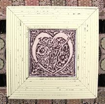 M Designs Celtic Heart Punch Needle