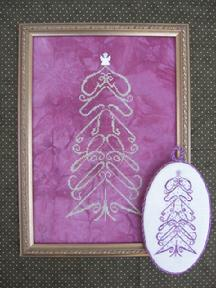 M Designs Virtue Tree Ornament